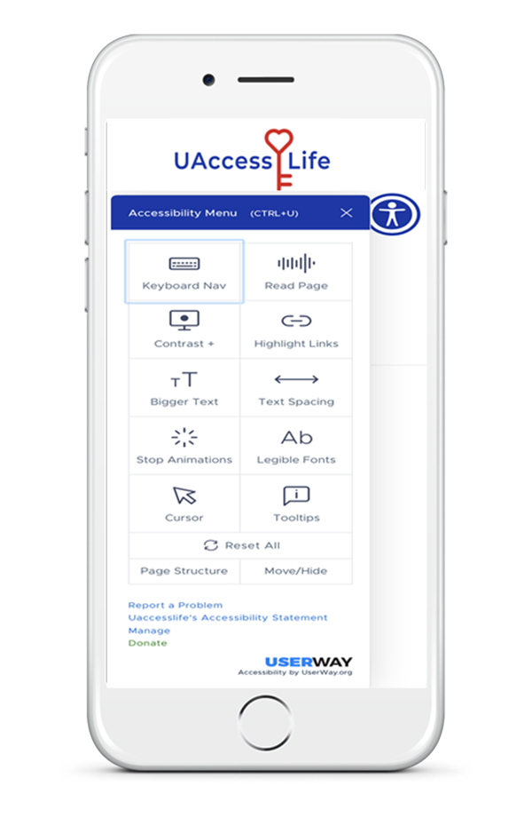 UAccess-Life-Userway-Accessible-Website-iPhone-Image